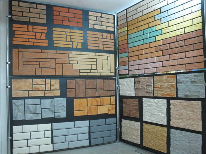 Отделать фасад искусственным камнем
