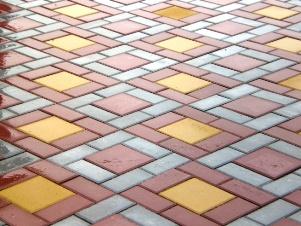 Прямоугольная тротуарная плитка для дачи
